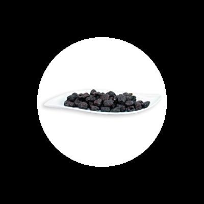 Schwarze Botija Oliven aus Peru - entsteint - Bio und Rohkostqualität