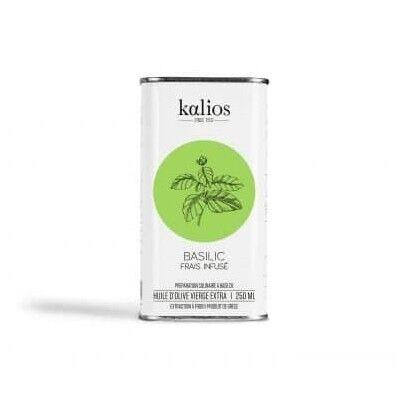 Infundiertes Olivenöl - Basilikum - kalios