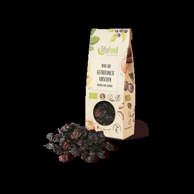 Getrocknete Kirschen ohne Kerne - Bio und Rohkost - Lifefood