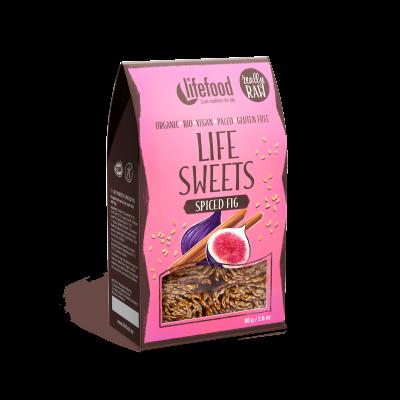 Life Sweets - Feige Lebkuchengewürz Rollen - Bio und Rohkostqualität