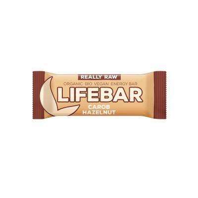 Lifebar - Carob Haselnuss - Bio und Rohkostriegel