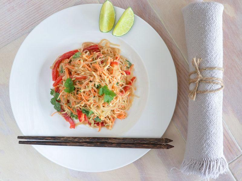 Rezept: Pad Thai mit Kelpnudeln