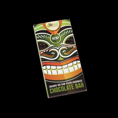Lifefood Schokolade - Hanfsamen - Bio und Rohkostqualität
