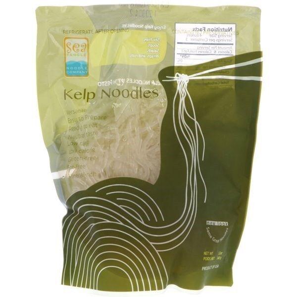 Kelp Nudeln - Rohkostqualität