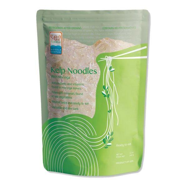 Kelp-Nudeln mit Moringa