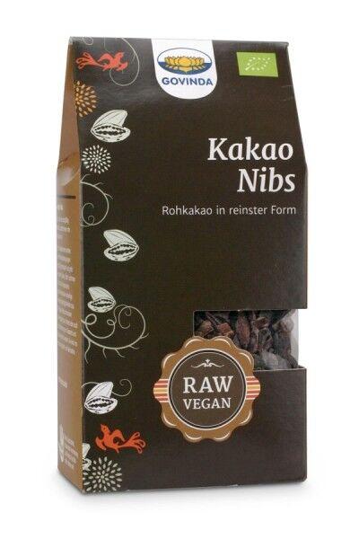 Bio Kakaonibs in Rohkostqualität von Govinda