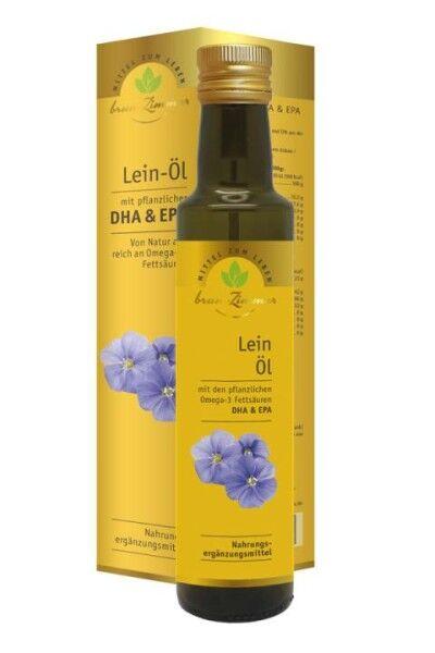 Leinöl mit DHA - Bio und kaltgepress
