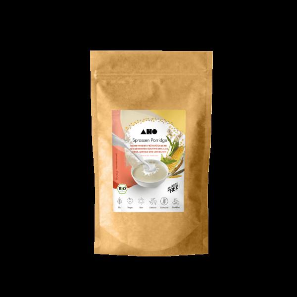 AHO Sprossen Porridge - Bio und Roh