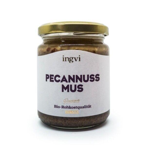 Bio Pecannussmus crunchy - Ingvi