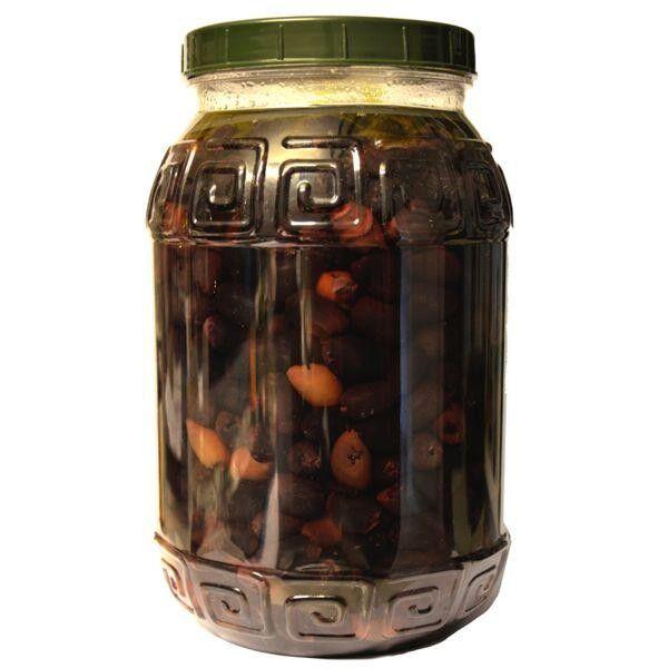 Bio Kalamata Oliven ohne Kern im Fässchen