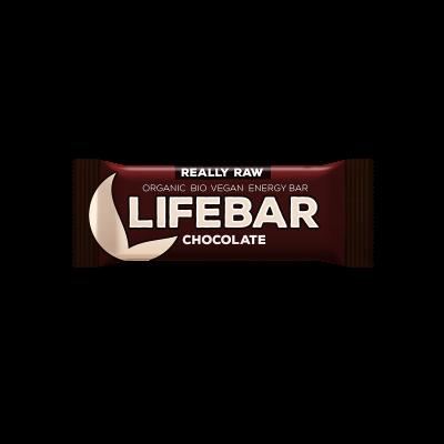 Lifebar - Schokolade - Bio und Rohkostriegel