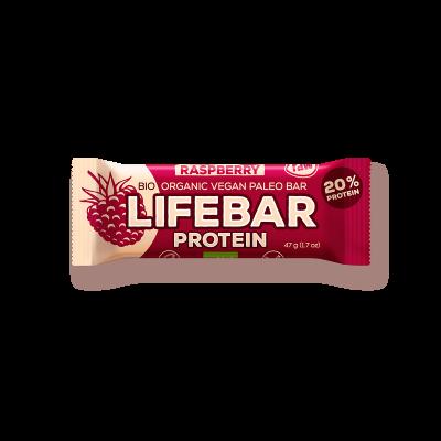 Lifebar - Himbeere - Protein Bio und Rohkostriegel