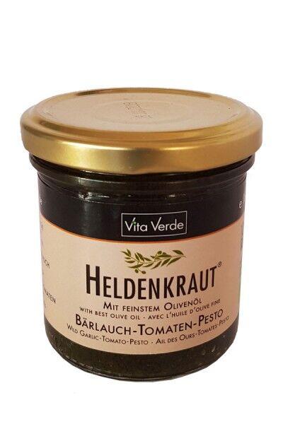 Bio Bärlauch - Tomate Pesto - Heldenkraut