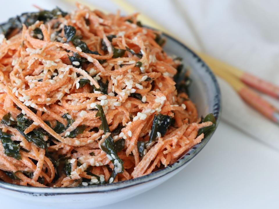 Rezept: Außergewöhnlicher Karottensalat