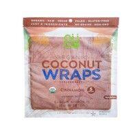 Bio Kokosnuss Wraps - Zimt - in Rohkostqualität