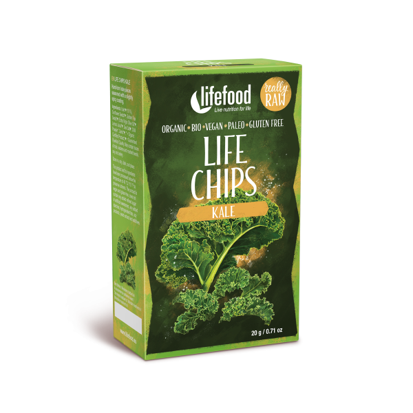 Life Chips - Grünkohl - Bio und Rohkostqualität