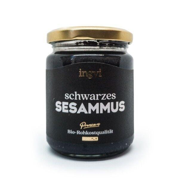 Bio Schwarzes Sesammus, Tahin - Ingvi