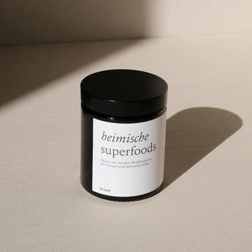 kruut - Heimische Superfoods - Wildpflanzenpulver