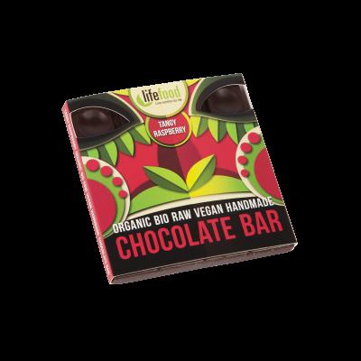 Lifefood Schokolade - spritzige Himbeere - Bio und Rohkostqualität 35g