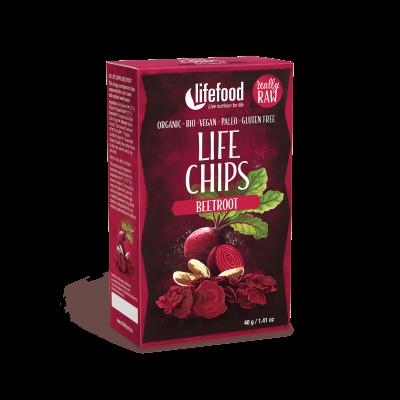 Life Chips - Rote Beete - Bio und Rohkostqualität