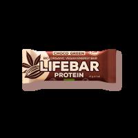 Lifebar - Schoko & Green - Protein Bio und Rohkostriegel