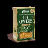 Life Crackers - Bärlauch - Bio und Rohkostqualität