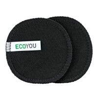 Waschbare Abschminkpads - Black Edition