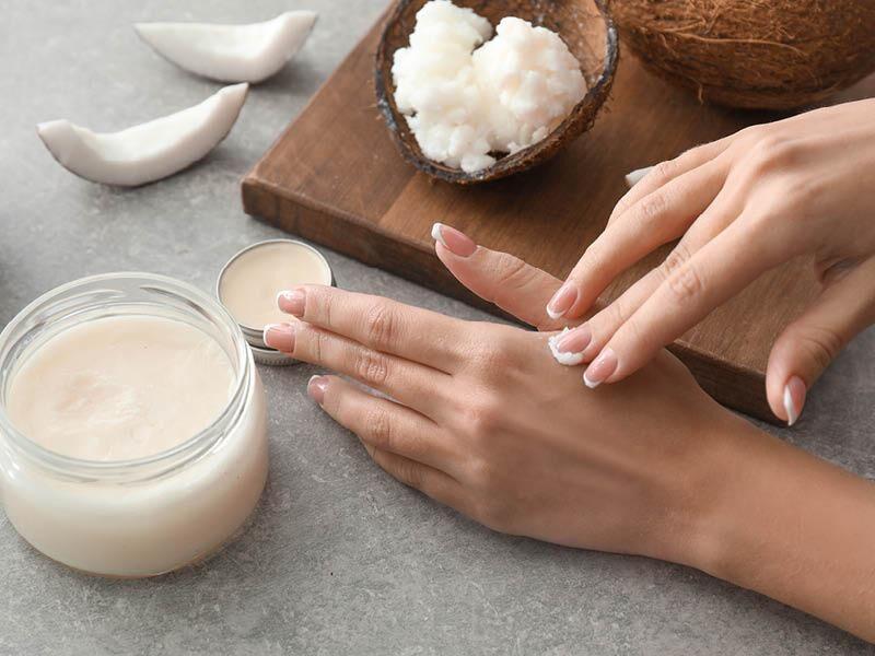 Kokosöl für Haut- und Narbenpflege