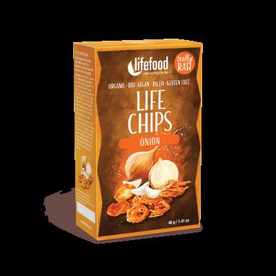 Life Chips - Zwiebel - Bio und Rohkostqualität