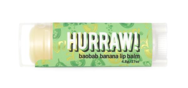 HURRAW! Lippenbalsam Baobab-Banane