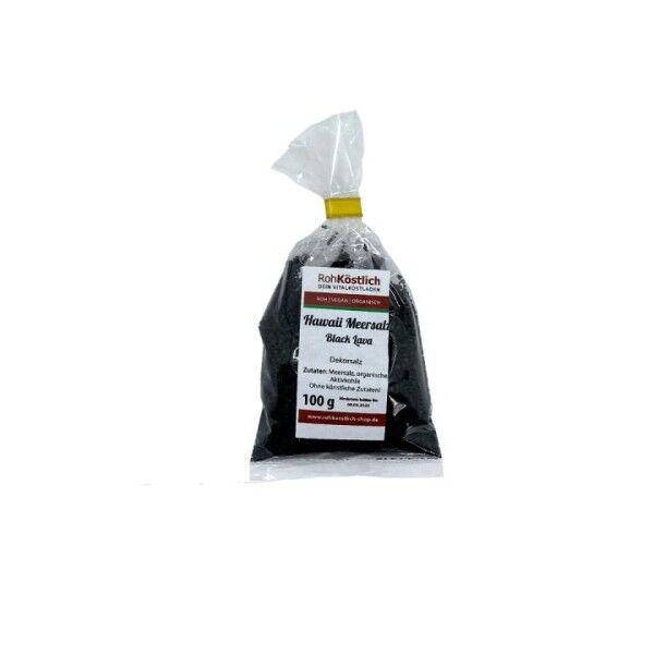 Schwarzes Hawaii Salz - Black Lava